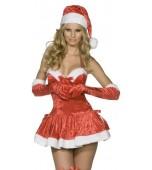 Adult Costume - Fever, Naughty Miss Santa