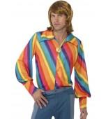 Shirt - 1970's Rainbow