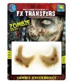 3D FX Transfers - Zombie, Cheekbones