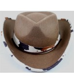 Cowboy Hat - Child, Cow Skin