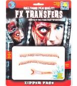 3D FX Transfers - Zipper Face