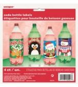 Bottle Labels - Soft Drink 4 pk