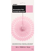 Decorative Fan - Pale Pink