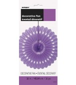 Decorative Fan - Purple