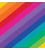 Luncheon Serviette 16 pk - Rainbow