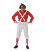 Adult Costume - Karnival, Mens Red Candy Maker