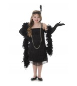 Child Costume - Karnival, Black Flapper Dress
