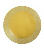 Placemat - Glitter, Gold 8 pk
