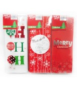 Christmas Cards - Slim 3D 8 pk
