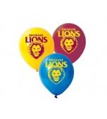 Balloons - AFL Brisbane Lions 25 pk