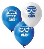 Balloons - AFL Geelong 25 pk