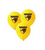 Balloons - AFL Hawthorn 25 pk