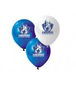 Balloons - AFL Kangaroos 25 pk