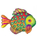 Balloon - Foil Super Shape, Tropical Fish