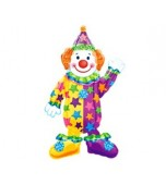 Balloon - Foil Airwalker, Clown