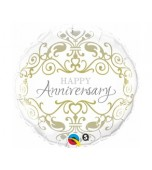 Balloon - Foil, Anniversary Classic