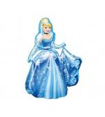 Balloon - Foil Airwalker, Cinderella