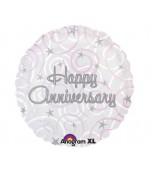 Balloon - Foil, Happy Anniversary