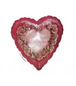 Balloon - Foil, Happy Valentine's Day 07562
