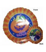 Balloon - Foil, Halloween Jack o Lantern