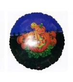 Balloon - Foil, Smiling Jack o Lantern