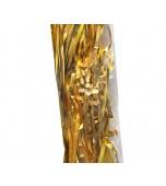 Ribbon & Pre Tied Clips - Metallic Gold 25 pk