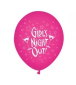 "Balloon - Latex, Print 11"" Girl's Night Out"