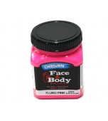 Face & Body Paint - Large, Fluro Pink
