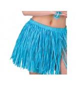 Hula Skirt - Adult Large Mini, Blue