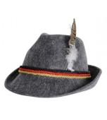 Alpine/Austrian Hat - Grey