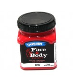 Face & Body Paint - Large, Red