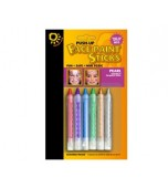 Face Paint Sticks - Pearl 6 pk