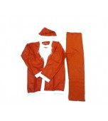 Adult Costume - Santa Suit, 5 Piece Budget