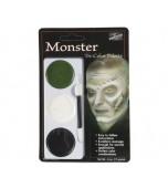 Mehron Tri-colour Make-up Palette, Monster