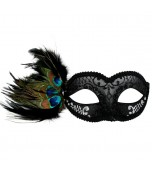 Adrianna Mask - Black and Silver