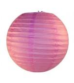 Lantern, Paper 35 cm - Musk Pink