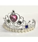 Tiara, Silver Jewels & Pearls