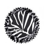 Baking Cups - Zebra Stripes 75 pk