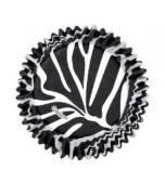 Baking Cups - Zebra Stripes 75 pk