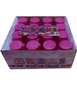Bubbles, Pink Glitz 16 pk