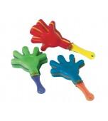 Hand Clappers - Mini, Multicoloured 6 pk