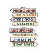 Cutouts/Street Signs - Australia