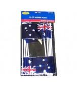 Flags - Australian 10 pk, Plastic