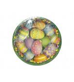 Plates - Dinner, Easter Egg 8 pk