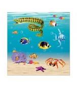 Serviettes - Luncheon, Under the Sea 16 pk
