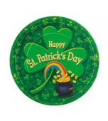 Luncheon Plates, Pot o Gold 8 pk