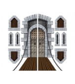 Backdrop Add-ons - Castle Door & Window Props