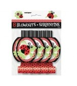 Blowouts - Lady Bugs, 8 pk