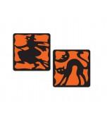 Coasters - Halloween 8 pk