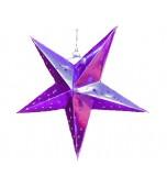 Lantern - 3D Star Pink